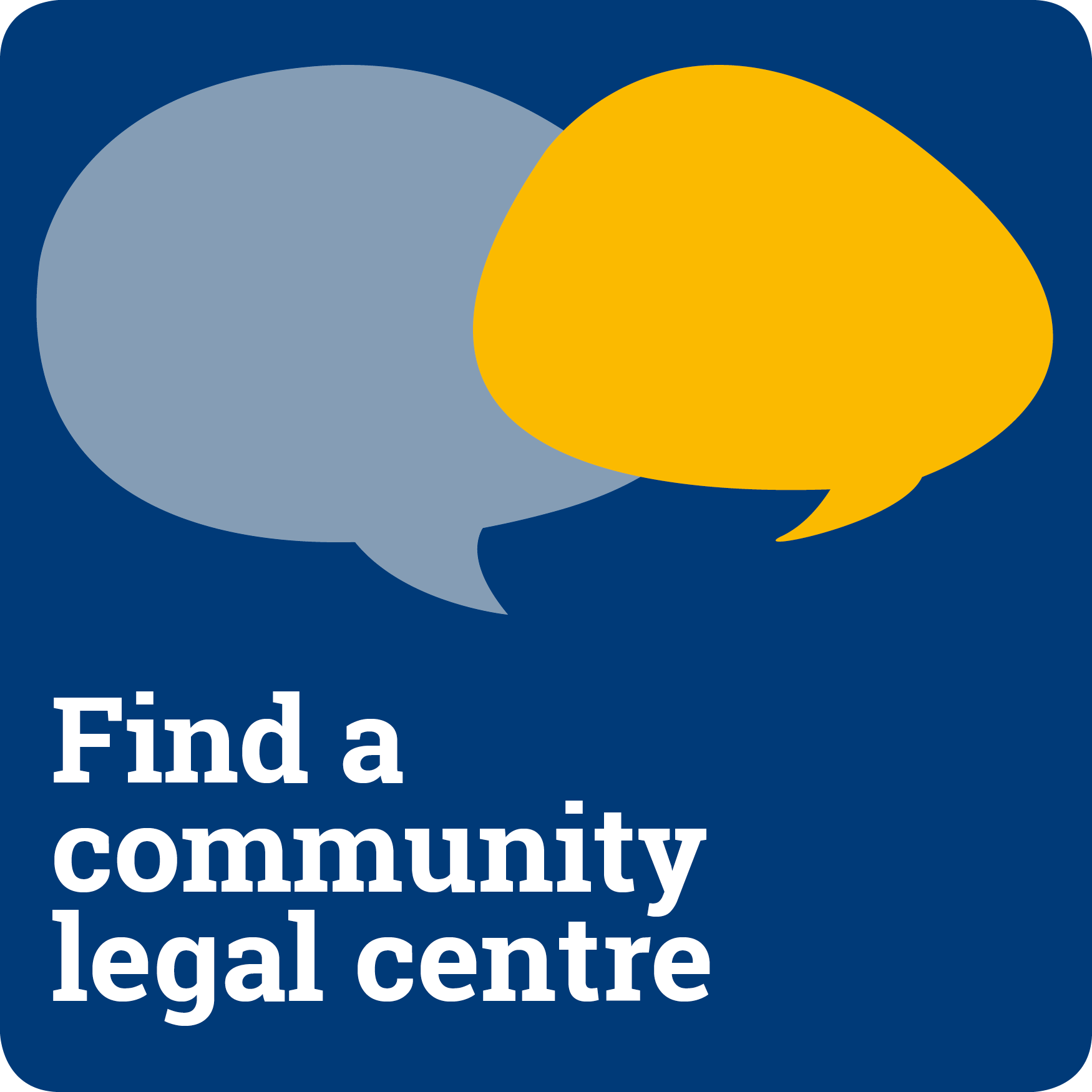 Find a community legal centre
