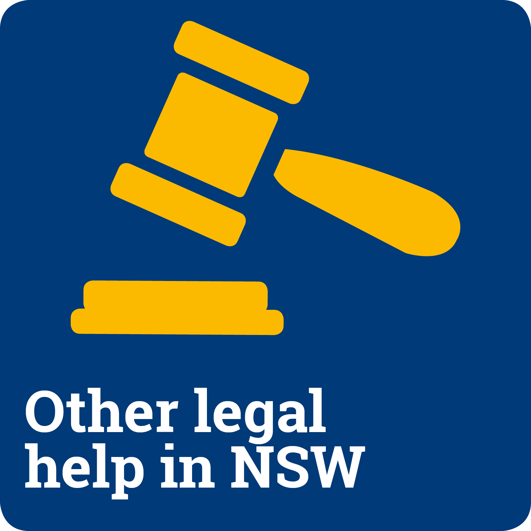 Other legal help in NSW
