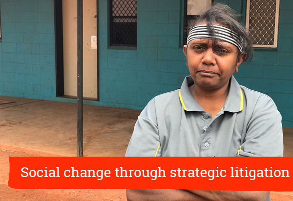 Social change through strategic litigation: NT's Santa Teresa community and residential tenancy laws (319)