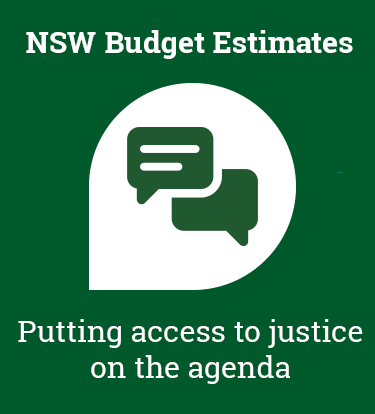 NSW Budget Estimates 2019-20: putting access to justice on the agenda