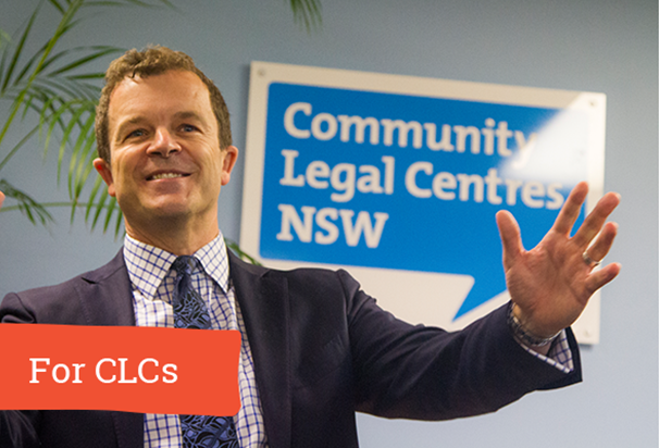 For community legal centres